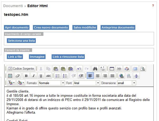 Editor di testo