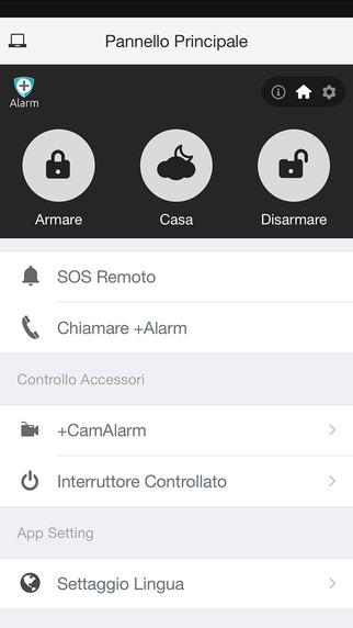 App per smartphone Alarm+